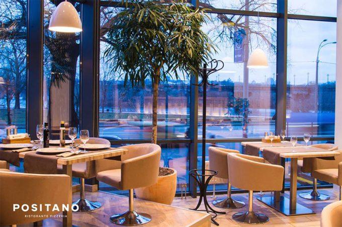 Ресторан-пиццерия Positano - интерьер