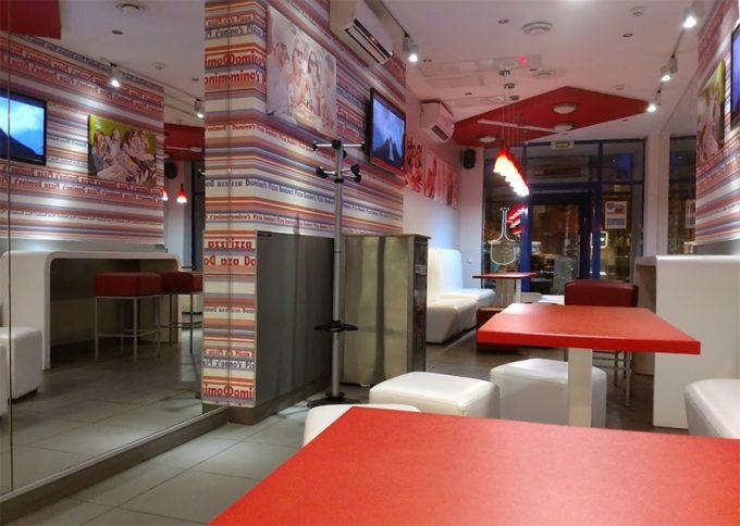 Domino's Pizza на ул. Саксаганского - интерьер