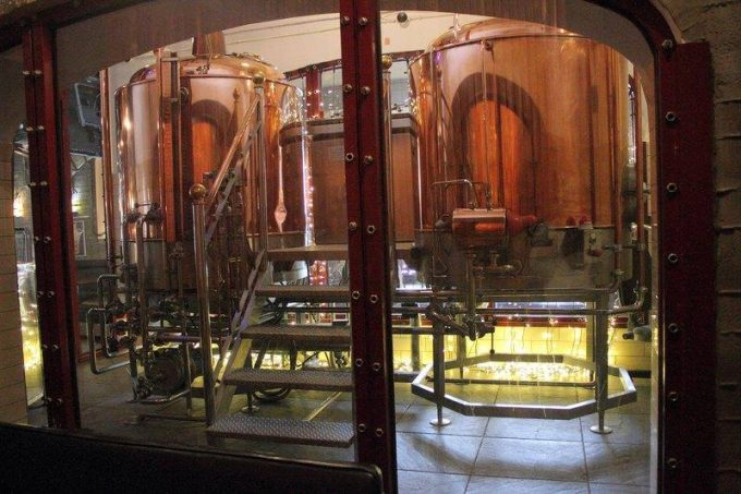 Шато Robert Doms - пивоварня
