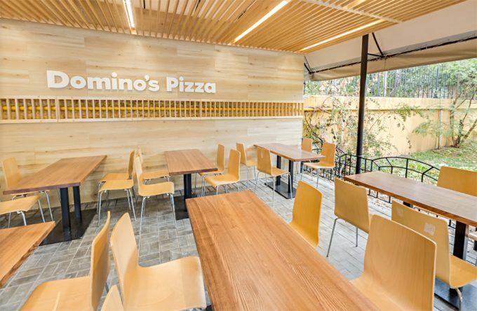 Domino's Pizza на ул. Терещенковской - летняя площадка