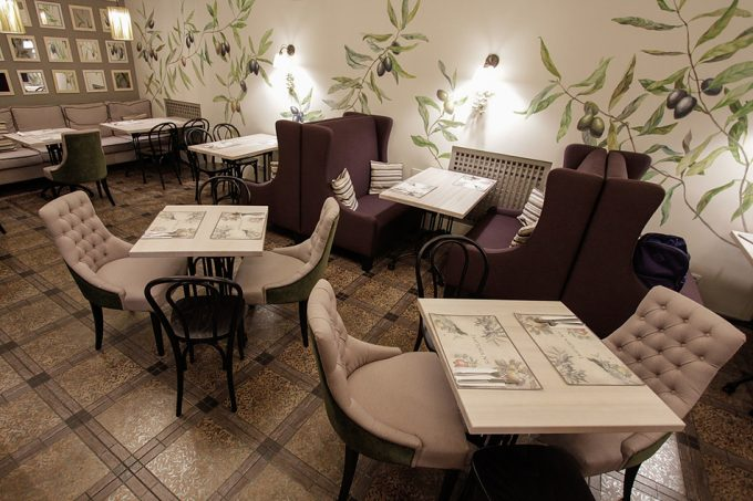 Ресторан Trattoria №5 - Оливковый зал