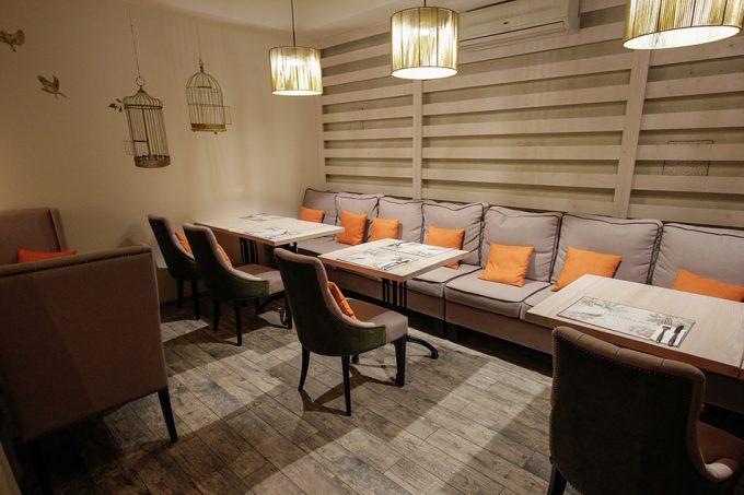 Ресторан Trattoria №5 - Мандариновый зал