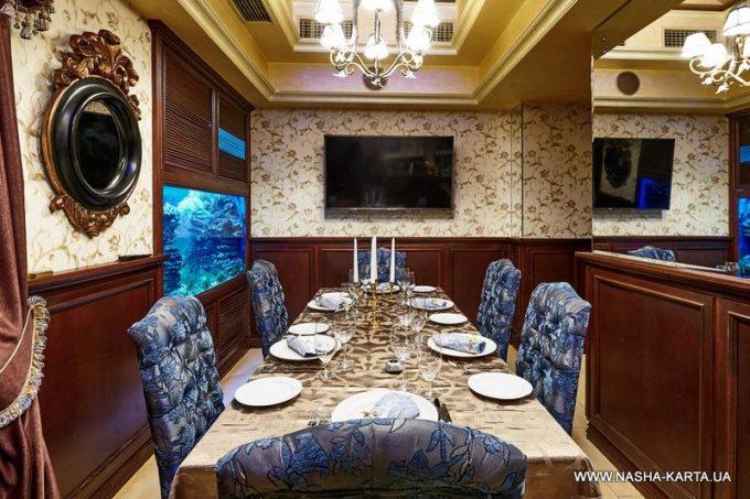 Лаунж-ресторан «ТургенеФ» - VIP-комната